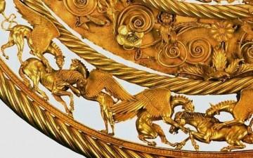 Золотая царская пектораль древних Скифов (часть 1)