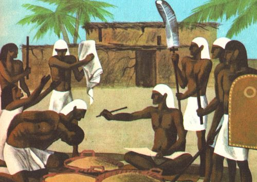 Кто в древнем египте имел все формы власти в своих руках