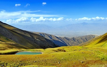 Экспедиция по сакральным зонам Кыргызстана. Плато Саймалуу-Таш.