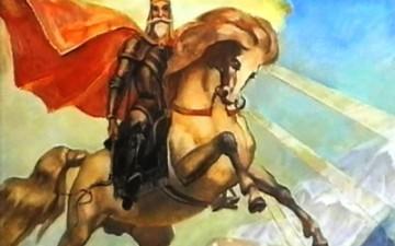 Уастырджи и Нарт Батраз в системе осетинской мифологии