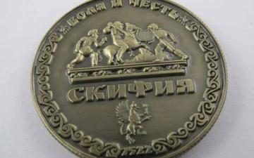 Выпущена монета талисман «Скифия»