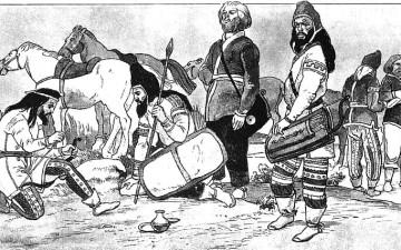 Крым периода владычества скифов