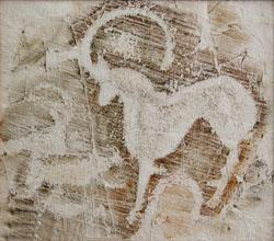 Древнее искусство на скалах Казахстана