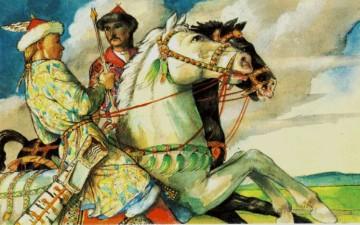 К тюркско-венгерским фольклорным связям.