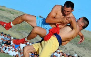 Кыргызская самобытная борьба – неотъемлемая часть тюркской культуры
