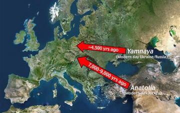 Официальная наука пересматривает свои прежние взгляды на европеоидов Азии