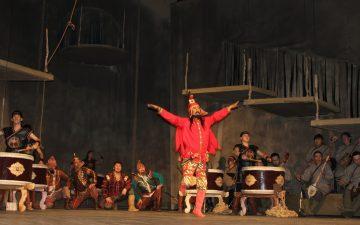 Спектакль о скифском царе поставили в Туве