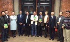 «Новые скифы» на персидском языке были презентованы в Москве
