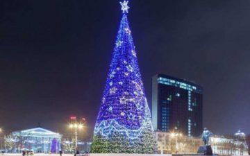 Донецк в декабре
