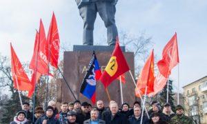 Новые скифы Новороссии провели митинг: Мы помним! Мы гордимся!