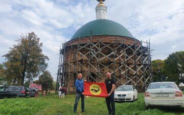 «Новые скифы» приняли участие в молебне посвященном Александру Невскому