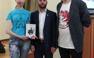 Презентация книги А. Жучковского «Мозговой»